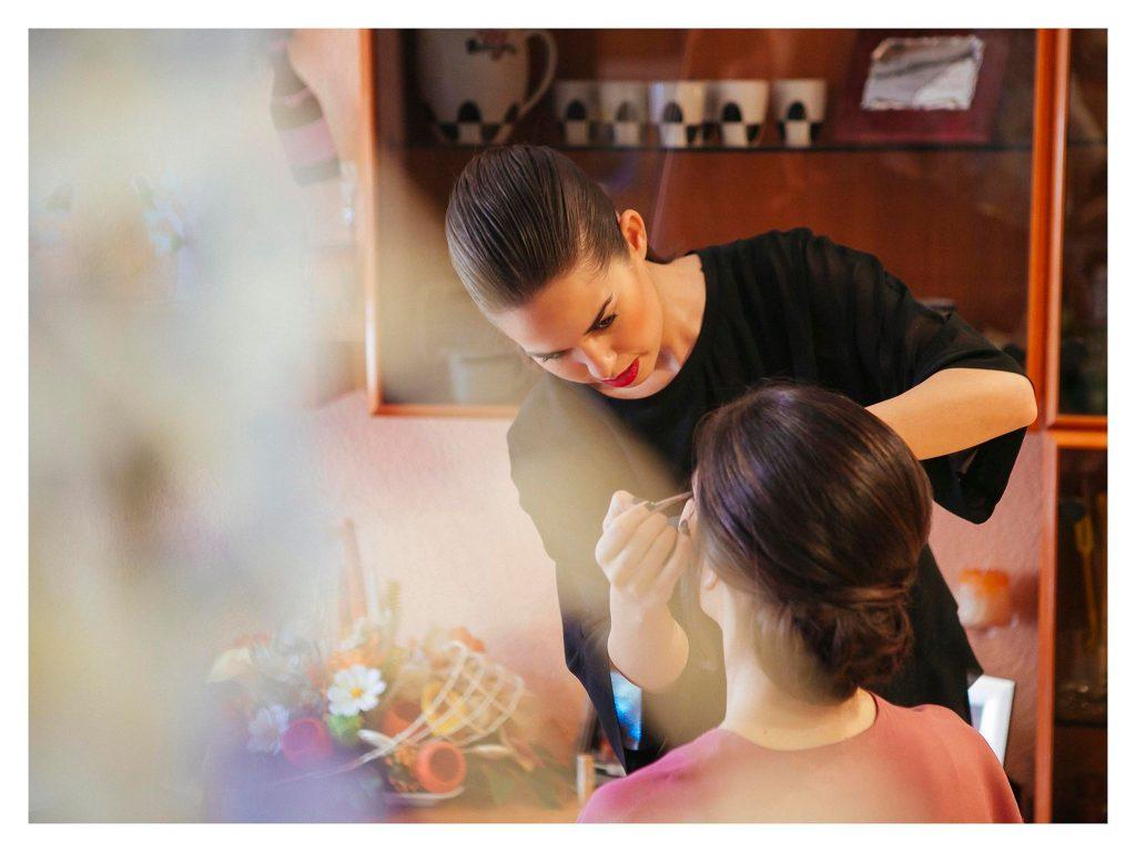 Amanda Asensi. Maquillaje para novias